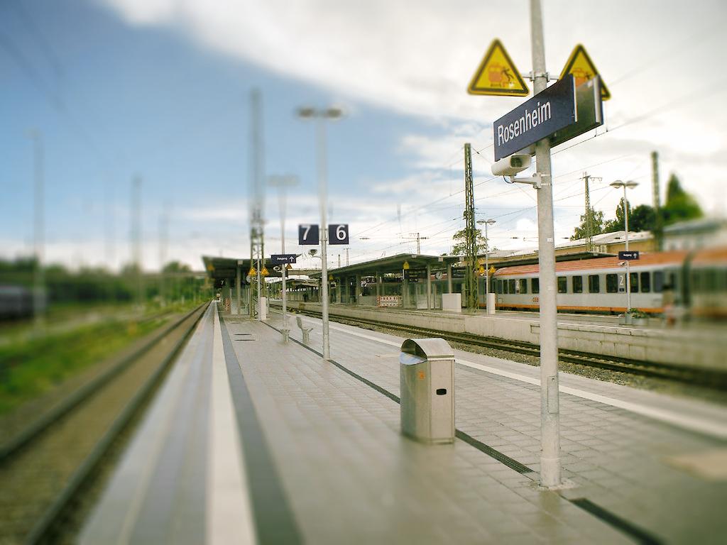 flickr.com, Rosenheim-Bahnhof, Bild: