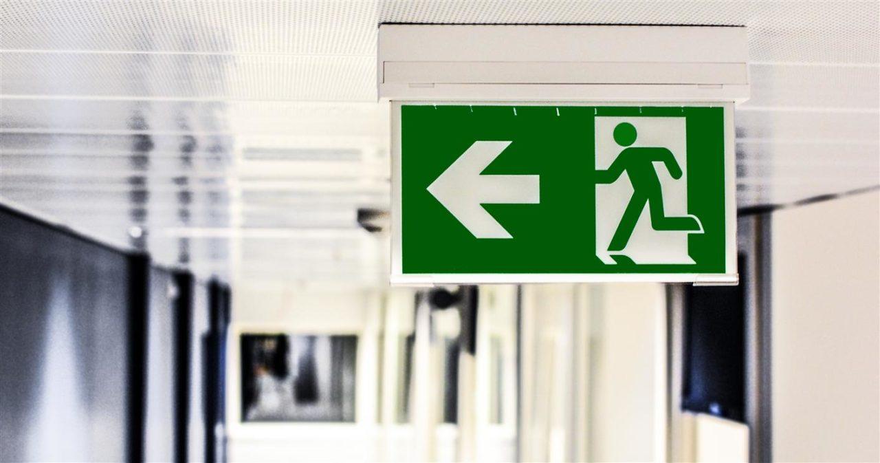 Exit, Bild: monicore, pexels.com, 134065